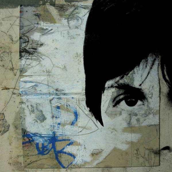 Wall Art - Mixed Media - Paul Mccartney - We're Gonna Have A Good Time  by Paul Lovering