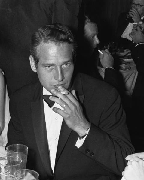 Movie Photograph - Paul Newman by William Lovelace