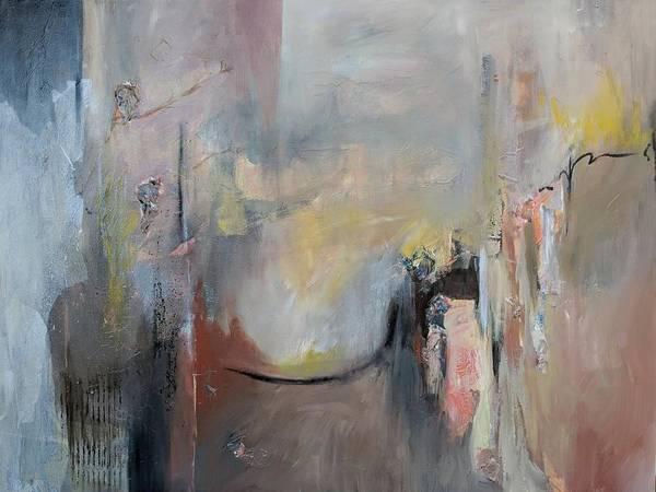 Painting - Paula's Room by Jillian Goldberg