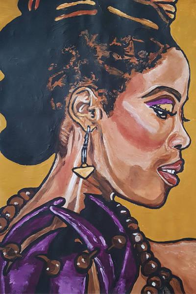 Painting - Pauline Jean by Rachel Natalie Rawlins