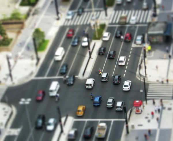 Rush Hour Photograph - Paulista Tilt Shift by Kassá