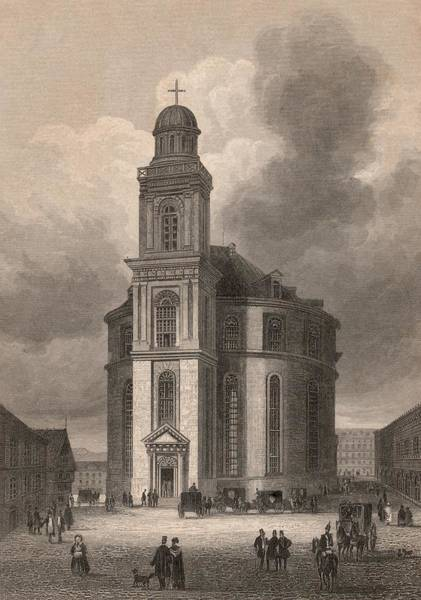 Church Digital Art - Paulskirche by Hulton Archive