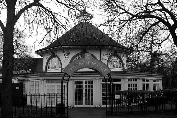 Royal Oak Photograph - Pavilion Cafe In Greenwich Park, London by Aidan Moran