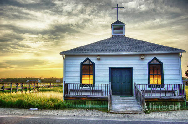 Wall Art - Photograph - Pawleys Island Chapel by DiFigiano Photography
