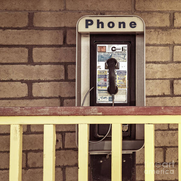 Photograph - Pay Phone by Imagery by Charly