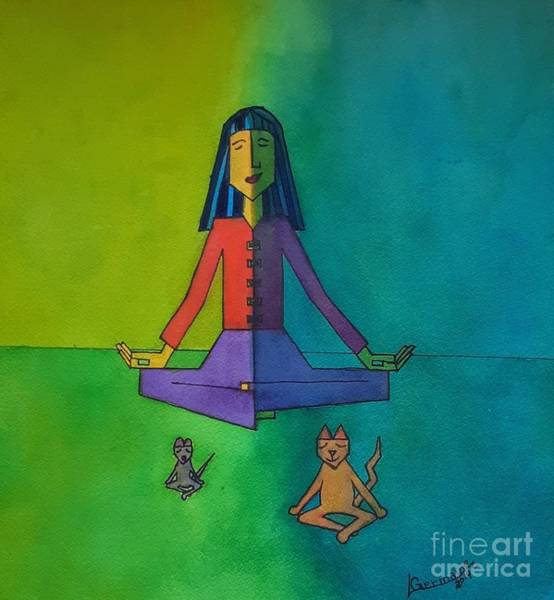 Painting - Peace by Lorraine Germaine