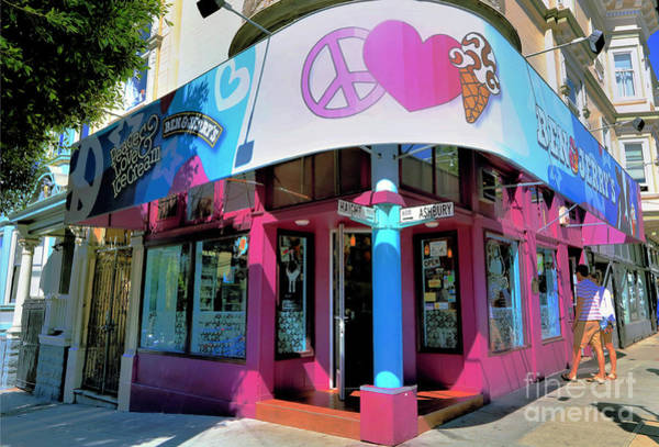 Wall Art - Photograph - Peace Love And Ice Cream by Diann Fisher