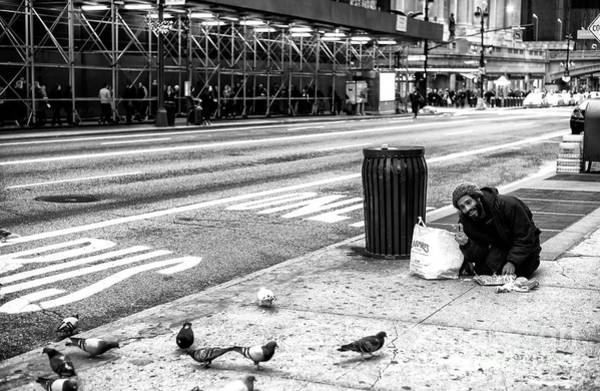 Photograph - Peace On 42nd Street In New York City by John Rizzuto