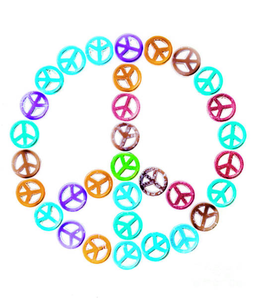 Sixties Photograph - Peace United by Jorgo Photography - Wall Art Gallery