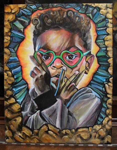 Wall Art - Painting - Peace by Vanessa Woods