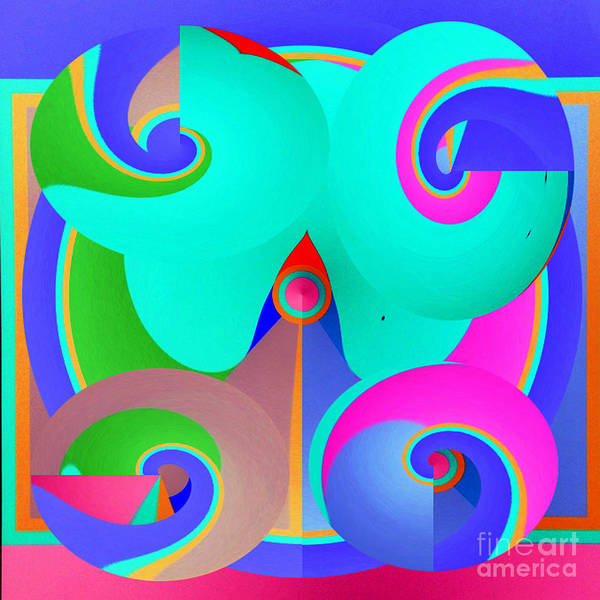 Wall Art - Digital Art - Peaceful Pastels   by Merice Ewart