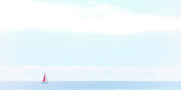 Photograph - Peaceful Sailing by Peter Tellone