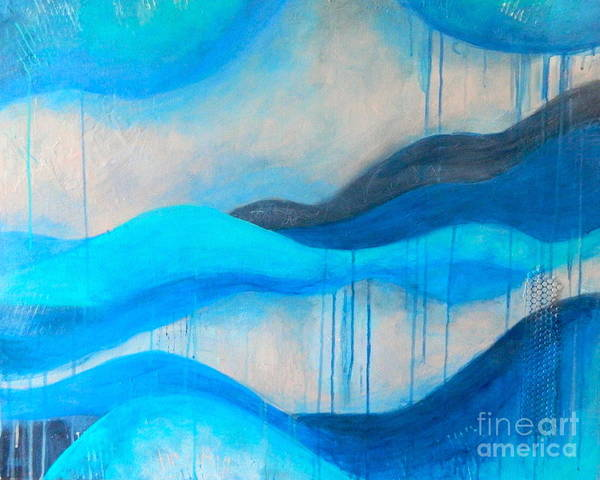 Wall Art - Painting - Peaceful Silence by Kate Marion Lapierre