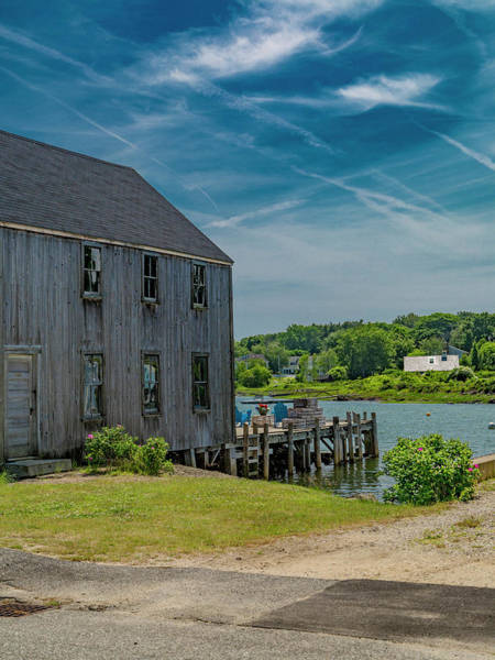 Kennebunkport Maine Photograph - Peaceful View Near Kennebunkport by Betsy Knapp