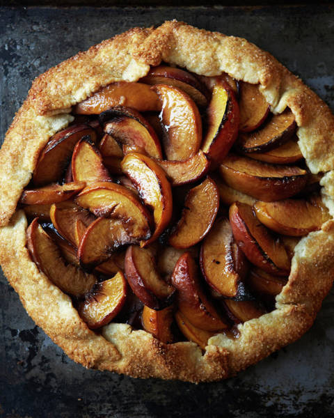 Lifestyles Photograph - Peach Galette by Iain Bagwell