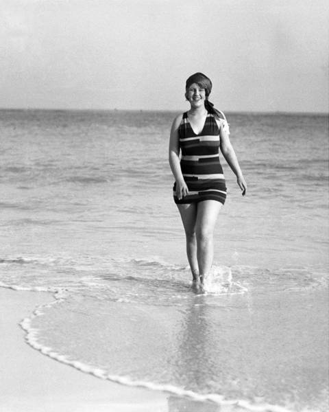 Bermuda Photograph - Peaches Browning At Elbow Beach In by New York Daily News Archive