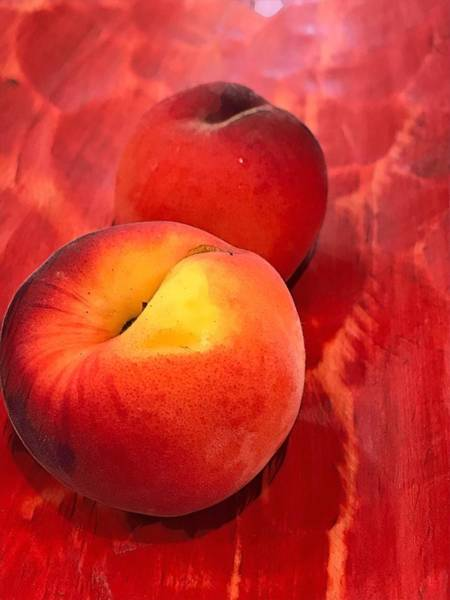 Digital Art - Peachy by Cindy Greenstein