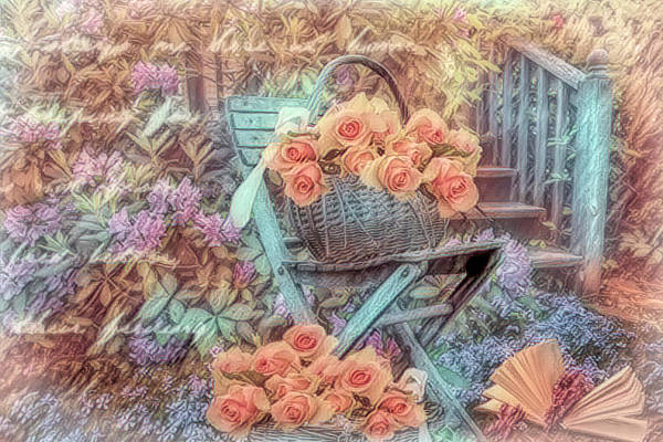 Photograph - Peachy Thoughts Of You by Debra and Dave Vanderlaan