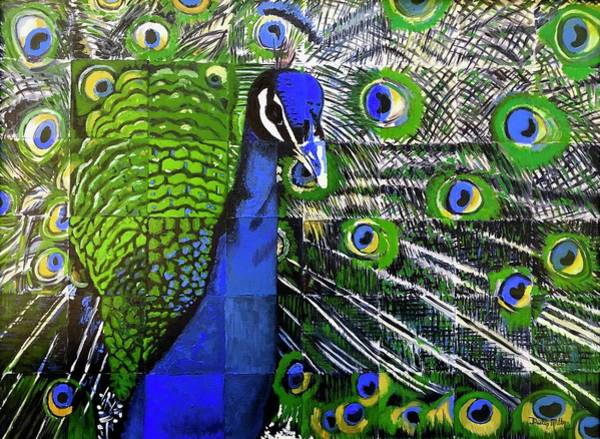 Painting - Peacock by Dustin Miller