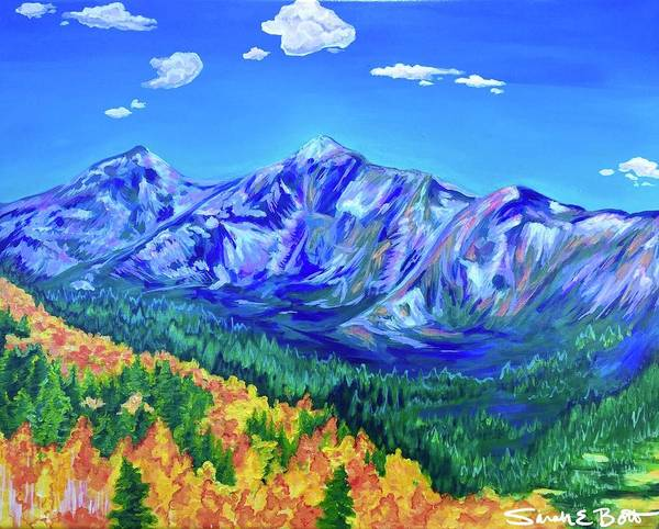Painting - Peak One, Frisco by Sarah E Bott