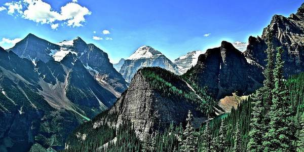 Wall Art - Photograph - Peaks And Valleys In Banff by Frozen in Time Fine Art Photography