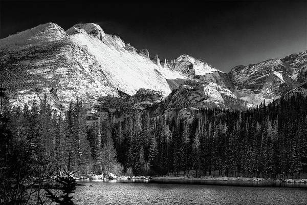 Wall Art - Photograph - Peaks Of Eternal Light by Eric Glaser