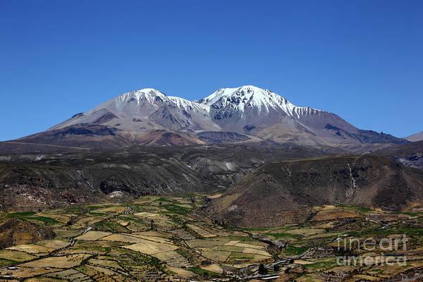 Photograph - Peaks Of Nevados De Putre Chile by James Brunker