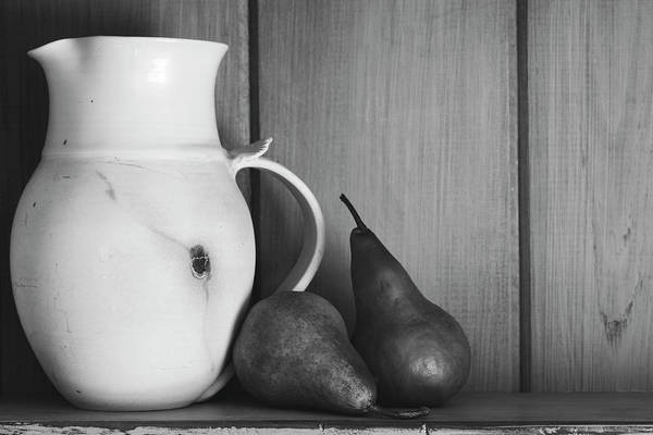 Wall Art - Photograph - Pear Still Life by Andrew Pacheco