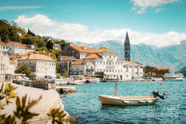 Wall Art - Photograph - Pearl Of Montenegro by JR Photography