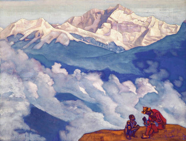Wall Art - Painting - Pearl Of Searching - Digital Remastered Edition by Nicholas Roerich