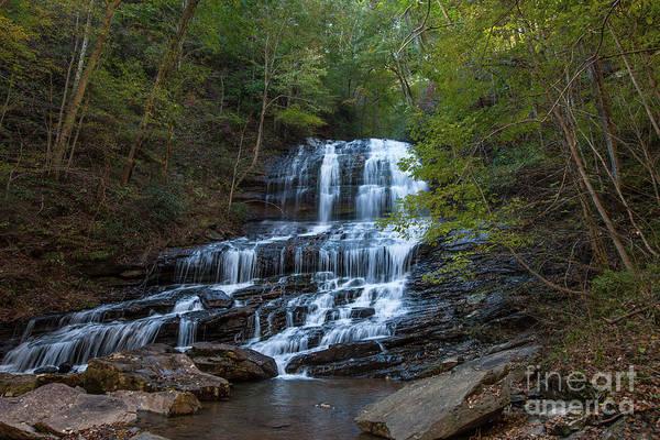 Photograph - Pearson's Fall And Glen - Saluda North Carolina by Dale Powell