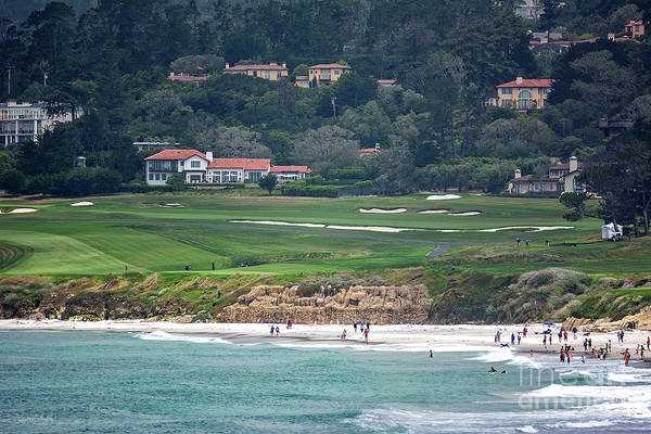Photograph - Pebble Beach Serenity After The Open by Susan Wiedmann