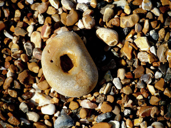 Photograph - Pebble On Pebbles by Helen Northcott