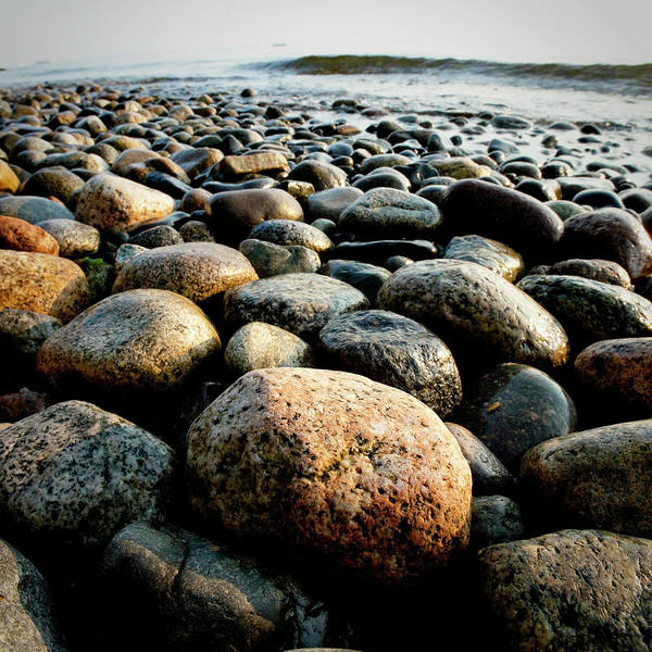 Sparse Photograph - Pebble Rocks by Visualcommunications