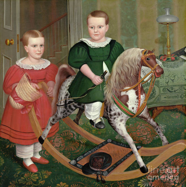 Painting - Peckham, Hobby Horse, C1840. by Granger