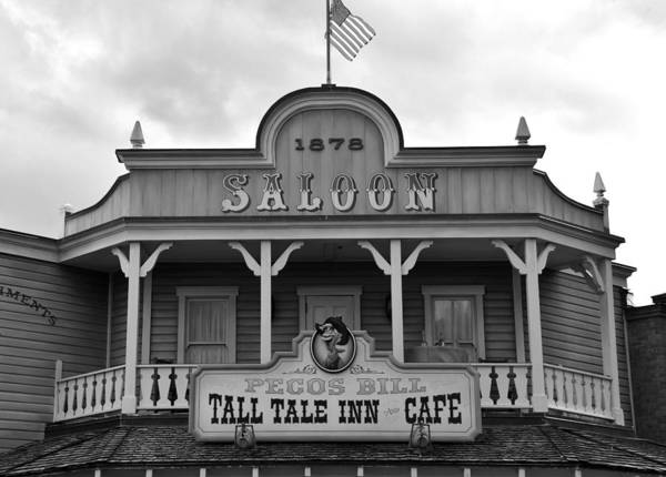 Wall Art - Photograph - Pecos Bill Saloon by David Lee Thompson