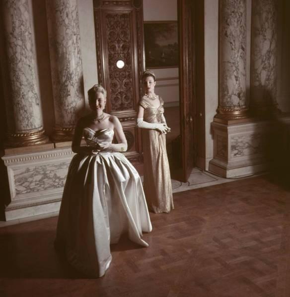 Evening Wear Photograph - Peeresses Dresses by John Chillingworth