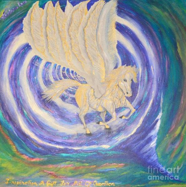 Painting - Pegasus Vortex by Sabine ShintaraRose