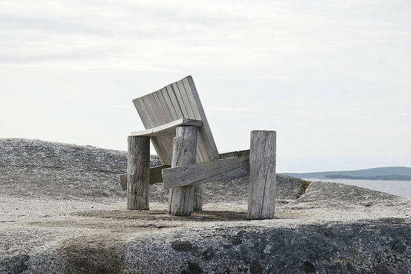 Photograph - Peggy's Chair by WB Johnston