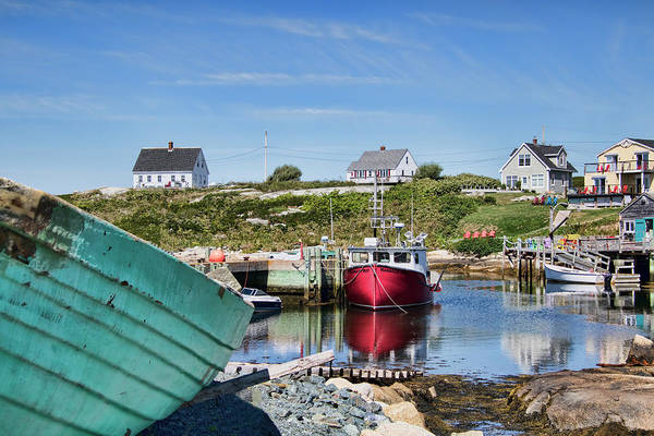 Photograph - Peggy's Cove, Nova Scotia by Peggy Collins