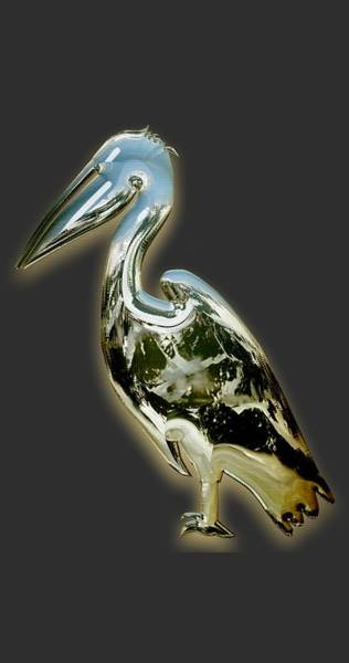 Pelican Mixed Media - Pelican by Marvin Blaine
