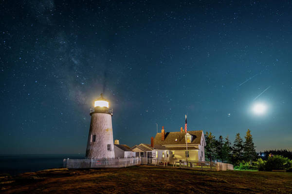 Photograph - Pemaquid Early Evening by Christina DeAngelo