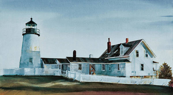Painting - Pemaquid Light by P Anthony Visco