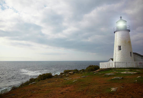 Bristol Wall Art - Photograph - Pemaquid Point Lighthouse by Thomas Northcut