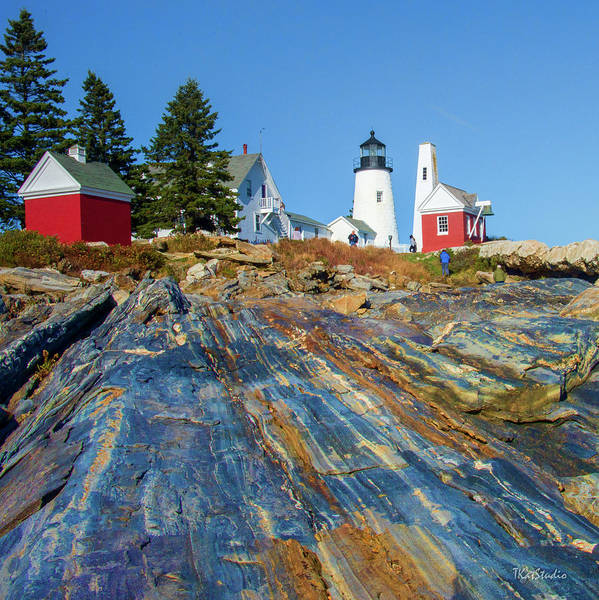 Photograph - Pemaquid Point Lighthouse  by Tim Kathka