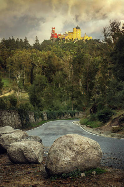 Wall Art - Photograph - Pena Palace Road by Carlos Caetano