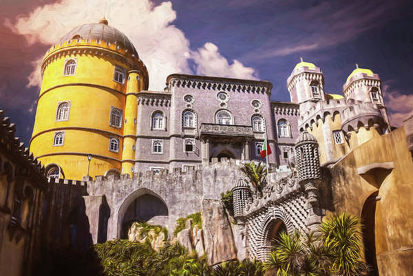 Wall Art - Photograph - Pena Palace Sintra Portugal  by Carol Japp