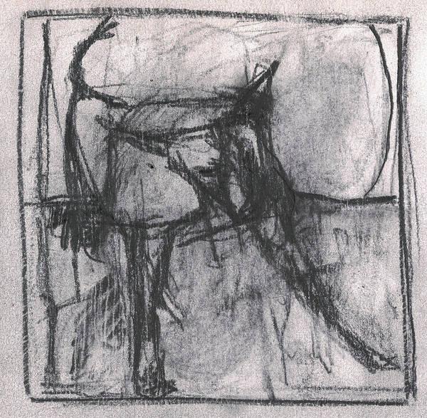 Drawing - Pencil Squares Farm B by Artist Dot