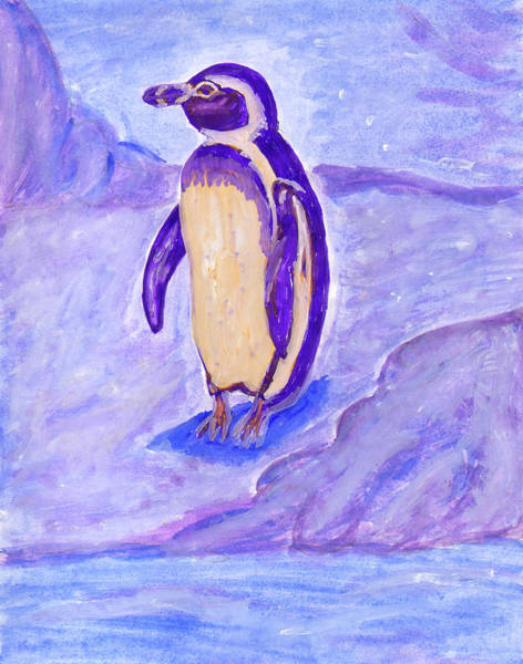Painting - Penguin by Irina Dobrotsvet