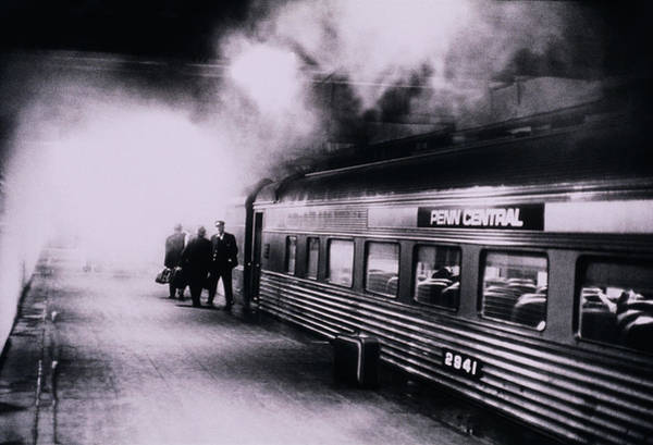 Photograph - Penn Central Train At Grand Central by Alfred Gescheidt